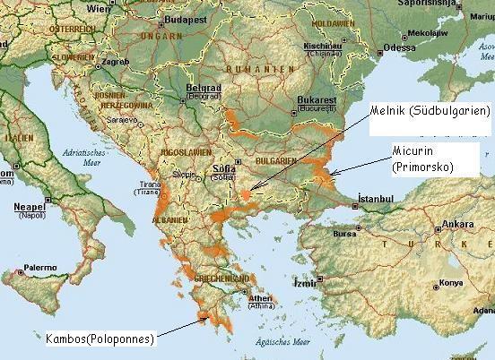 penelopes griechenland karte